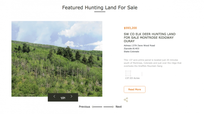Realtree UC Hunting Properties - New List Hunting Property For Sale