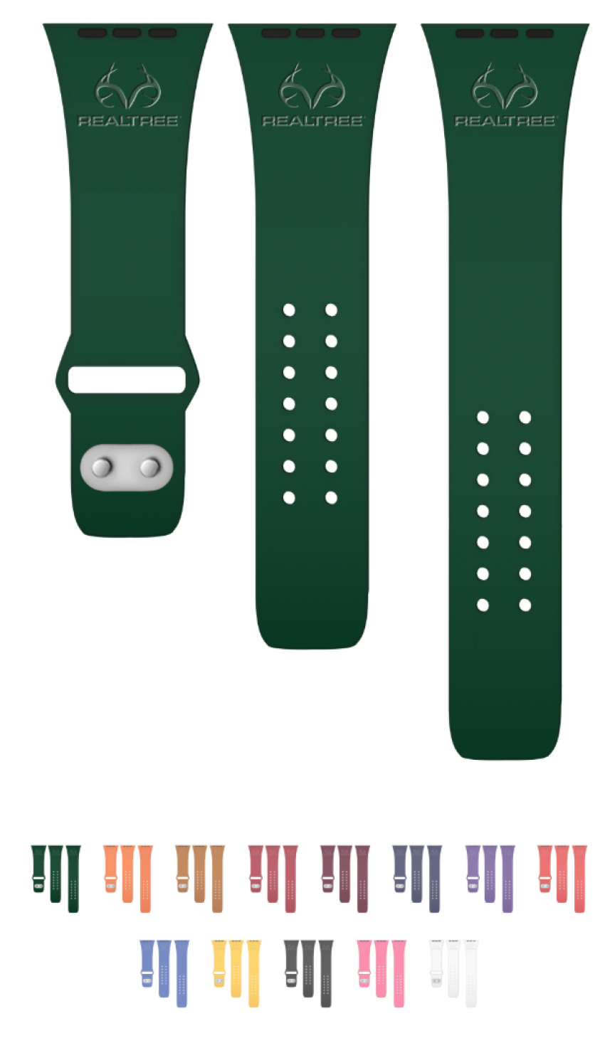 Realtree Debossed Apple Watch Band