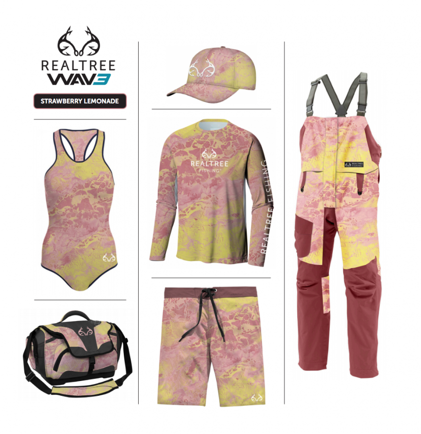 Realtree WAV3 Fishing - Strawberry Lemonade