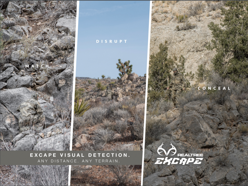 Realtree Excape Hunting Camo Pattern 2019 - Western Hunting