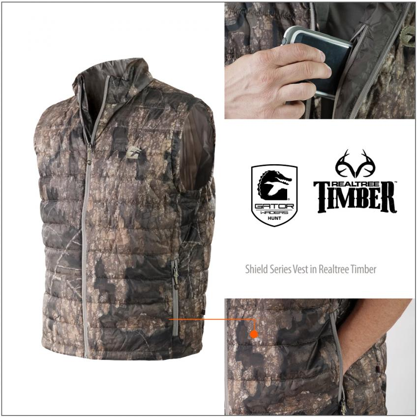 Shield Series Vest in Realtree Timber