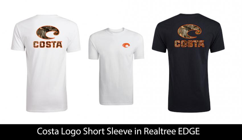 Costa Logo Short Sleeve in Realtree EDGE | Realtree B2B
