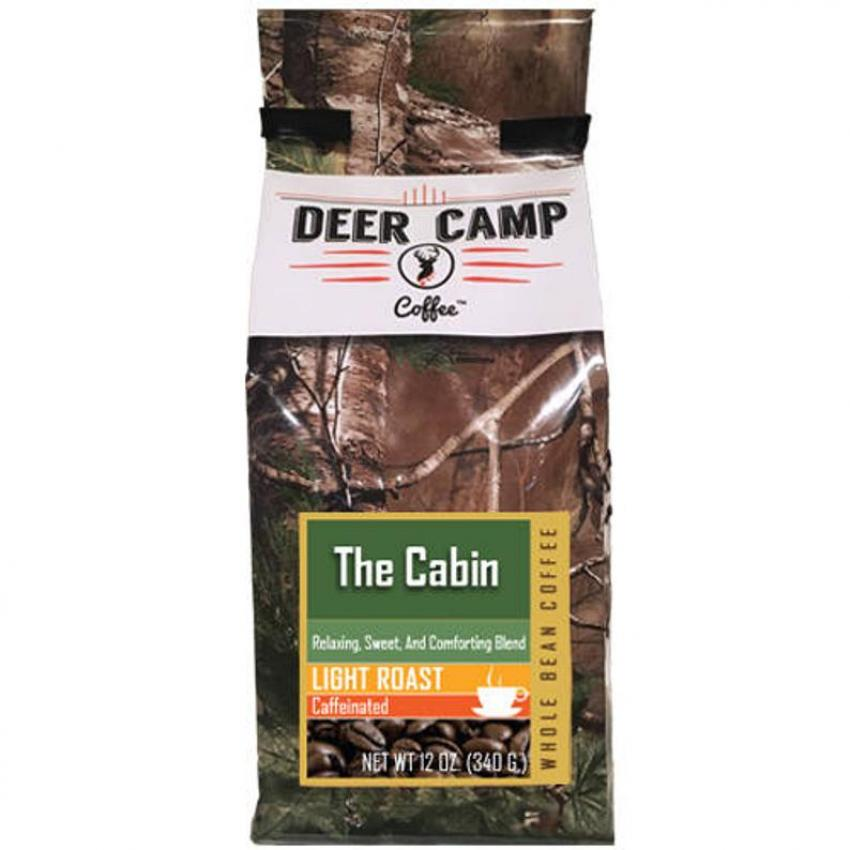 Realtree ground coffe by deer camp coffee - the cabin