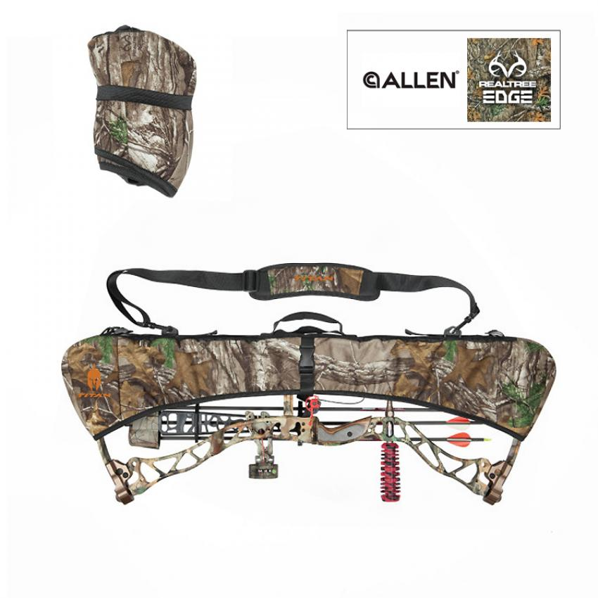Allen Allen Terraintm Quick Fit Bow Sling with Handwarmer Realtree Max-5 camo Waist Pack with Handwarmer Realtree camo