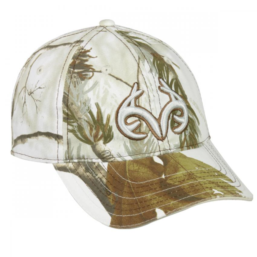Realtree TRT Snow Camo Caps