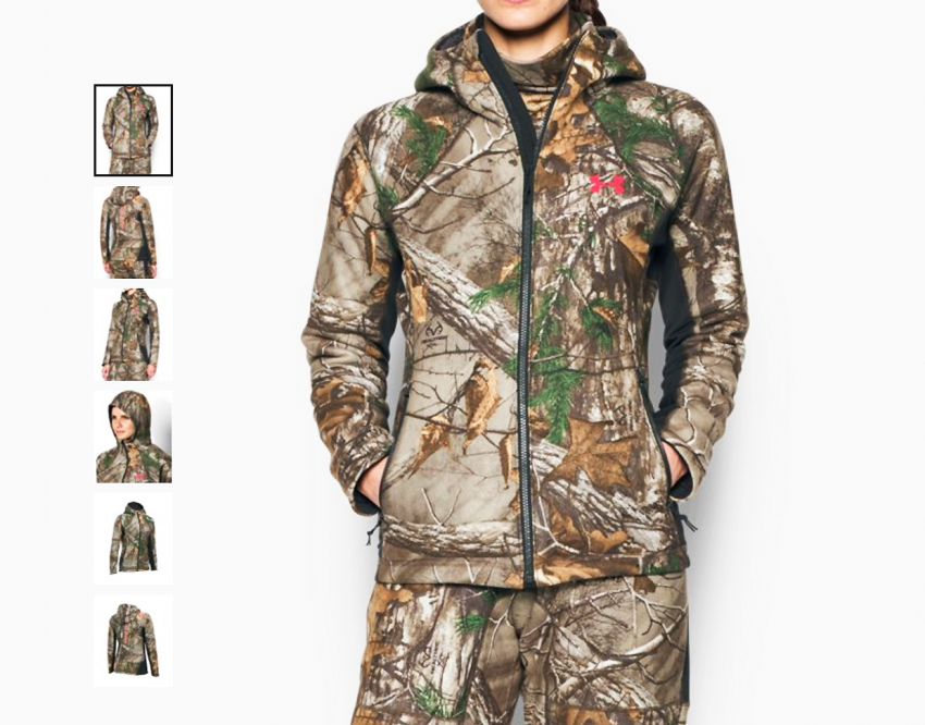 f1a14fbd Under Armour New Fall Realtree Hunting Apparel Combines Superior ...