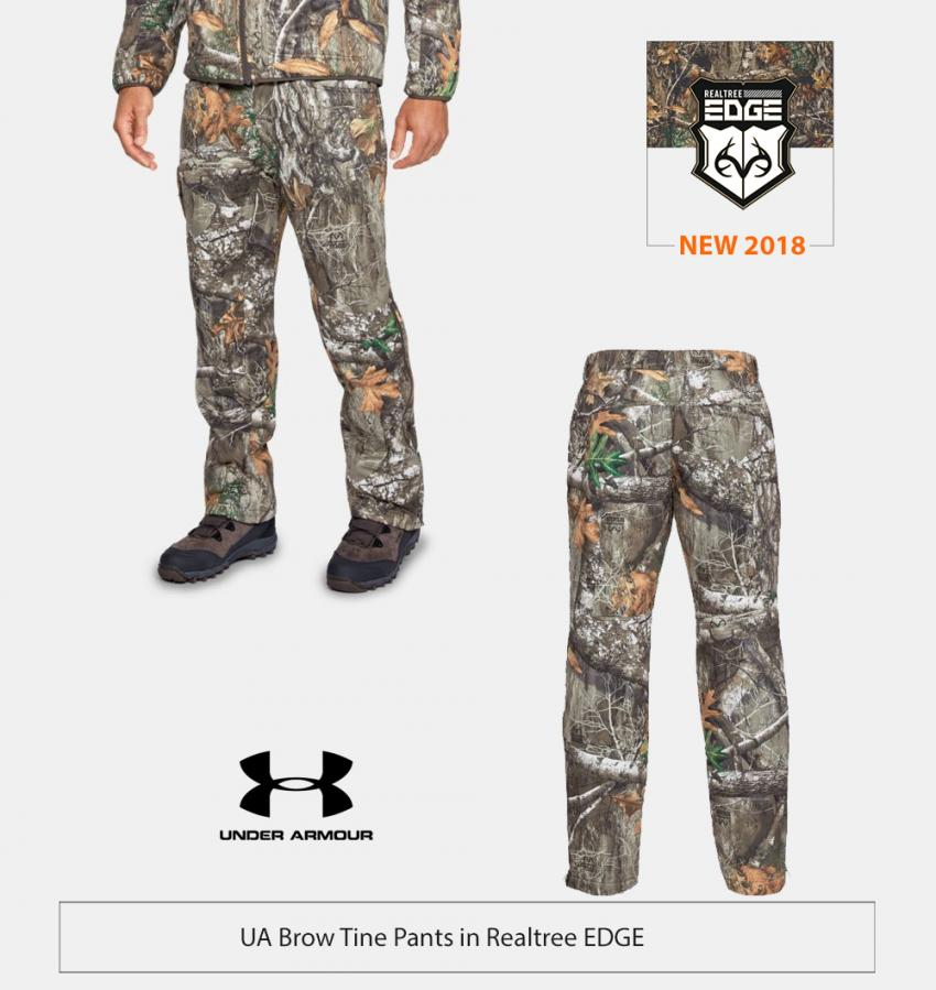 UA Brow Tine Pants in Realtree EDGE | Realtree Business