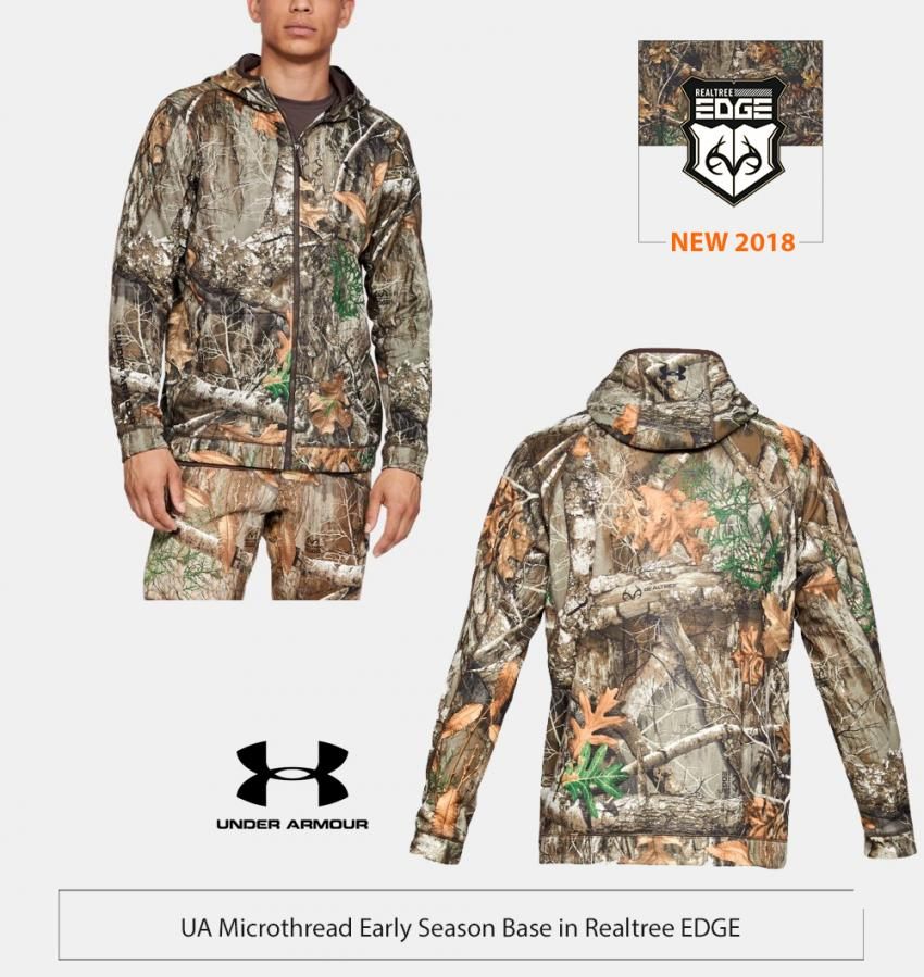 UA early season Jacket in Realtree EDGE | Realtree Business