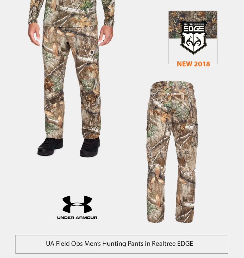 UA Field Ops Hunting Pants in Realtree EDGE | Realtree Business