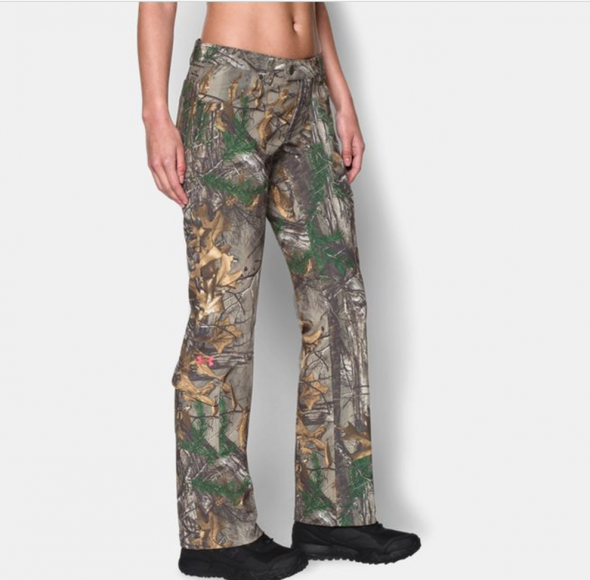 Beautiful Under Armour Women39s Camo EVO Scent Control Pant ColdGear Realtree AP