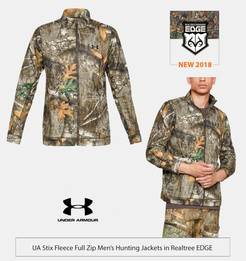 UA stix fleece full zip jaceket in Realtree EDGE | Realtree Business