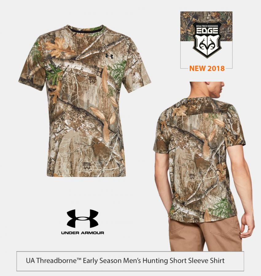 UA Tech Hunting Shirt in Realtree EDGE | Realtree Business
