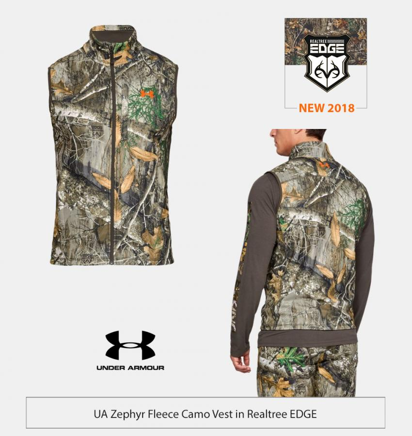UA Tech Hunting Vest in Realtree EDGE | Realtree Business