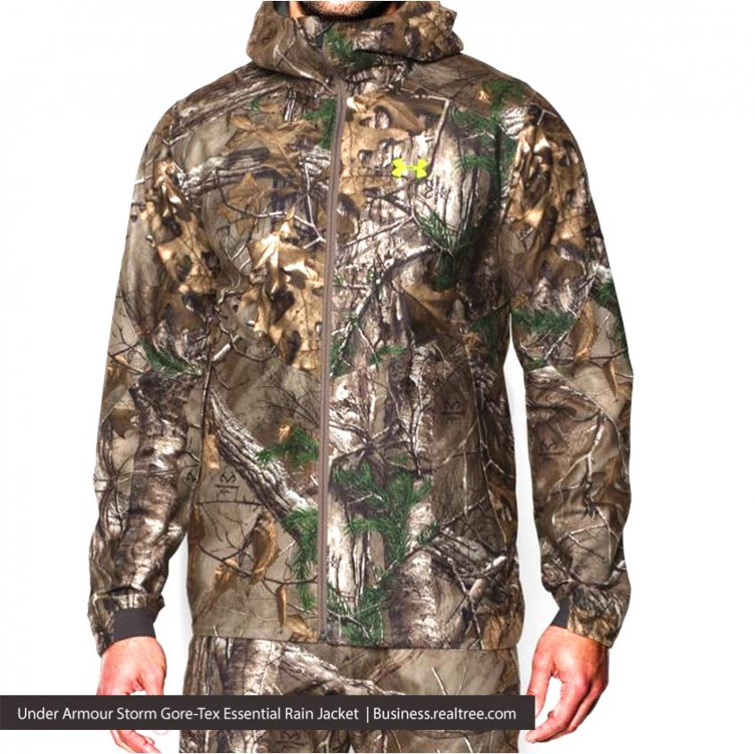 Under Armour Storm Gore-Tex Essential Rain Jacket | Realtree B2B