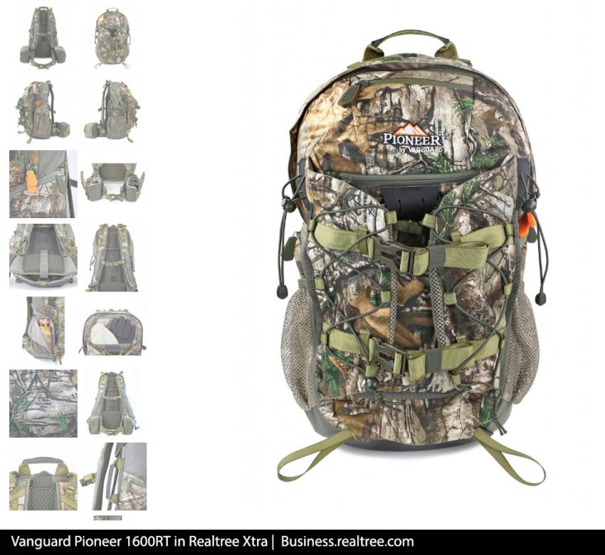 Vanguard Pioneer 1600RT in Realtree Xtra | Realtree B2B