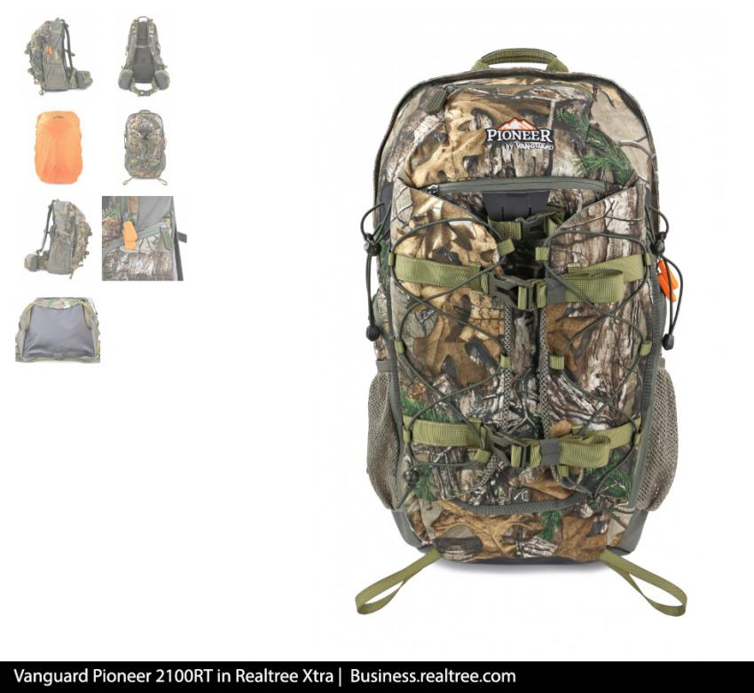 Vanguard Pioneer 2100RT in Realtree Xtra | Realtree B2B