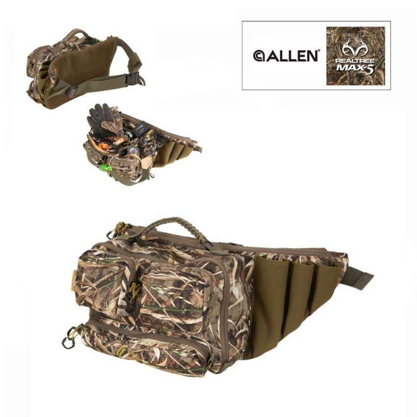 GearFit Pursuit™ Punisher™ Waterfowl Waist Pack, Brown and Realtree® Max-5™ Camo