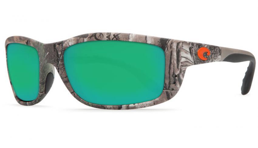 New Costa Del Mar Zane Polarized Sunglasses 580G Glass Realtree AP Camo//Grey