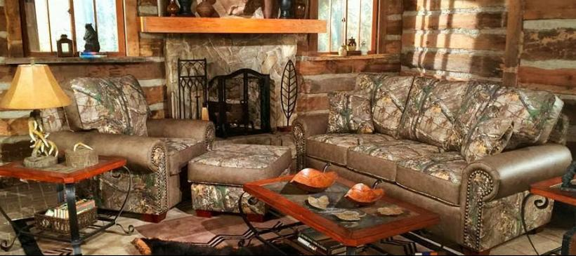 Camo Comes Indoors For Home Décor Touch