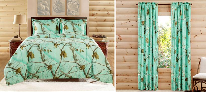 Curtains Ideas cheap camo curtains : Camo Room Décor for Edgy Outdoors Appeal - 1888 Mills | Realtree B2B