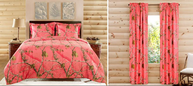 pink camo bedroom accessories camo room d 233 cor for edgy outdoors appeal 1888 mills 16724