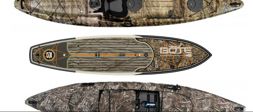 Realtree camo fishing roundup top boats kayaks and for Fishing paddle boats