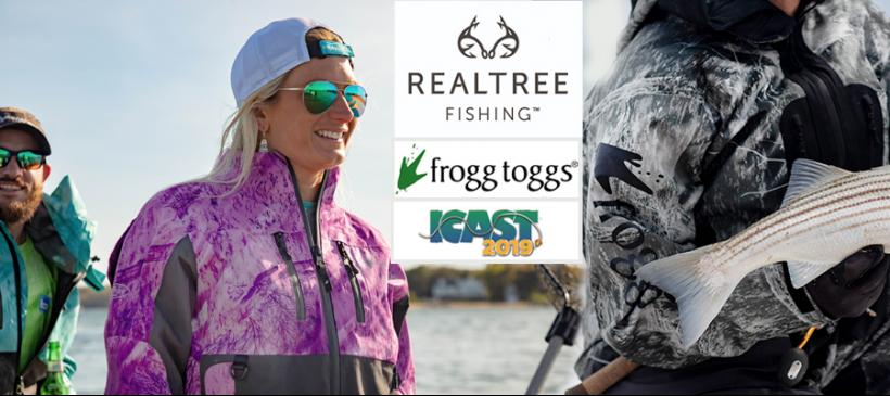 Frogg Toggs Shows Off Realtree Fishing Apparel at 2019 ICAST Show
