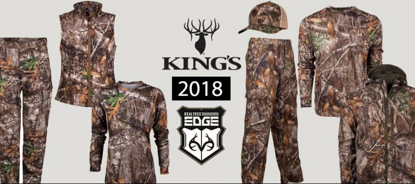 King/'s Camo Ladies Hunter Series Pants Realtree Edge