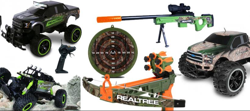 c179be27e0ef7 Parents looking for Christmas gifts for their kids that encourage a love  for the outdoors will find what they're looking for in Realtree toys by  NKOK.
