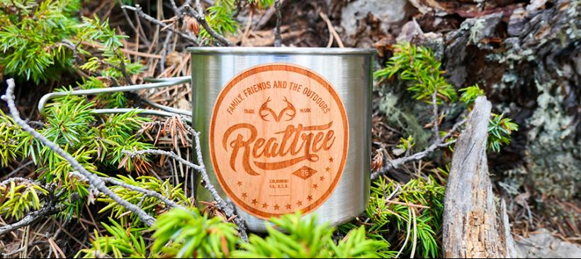 Realtree Wood Stickers Add a Personal Outdoorsy Touch