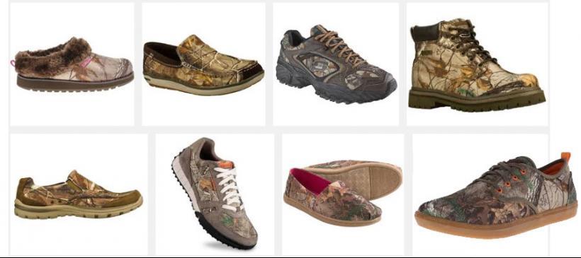 Team Realtree Tennis Shoes